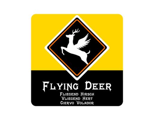 logo Flying deer