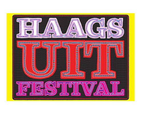 logo Haags uit festival